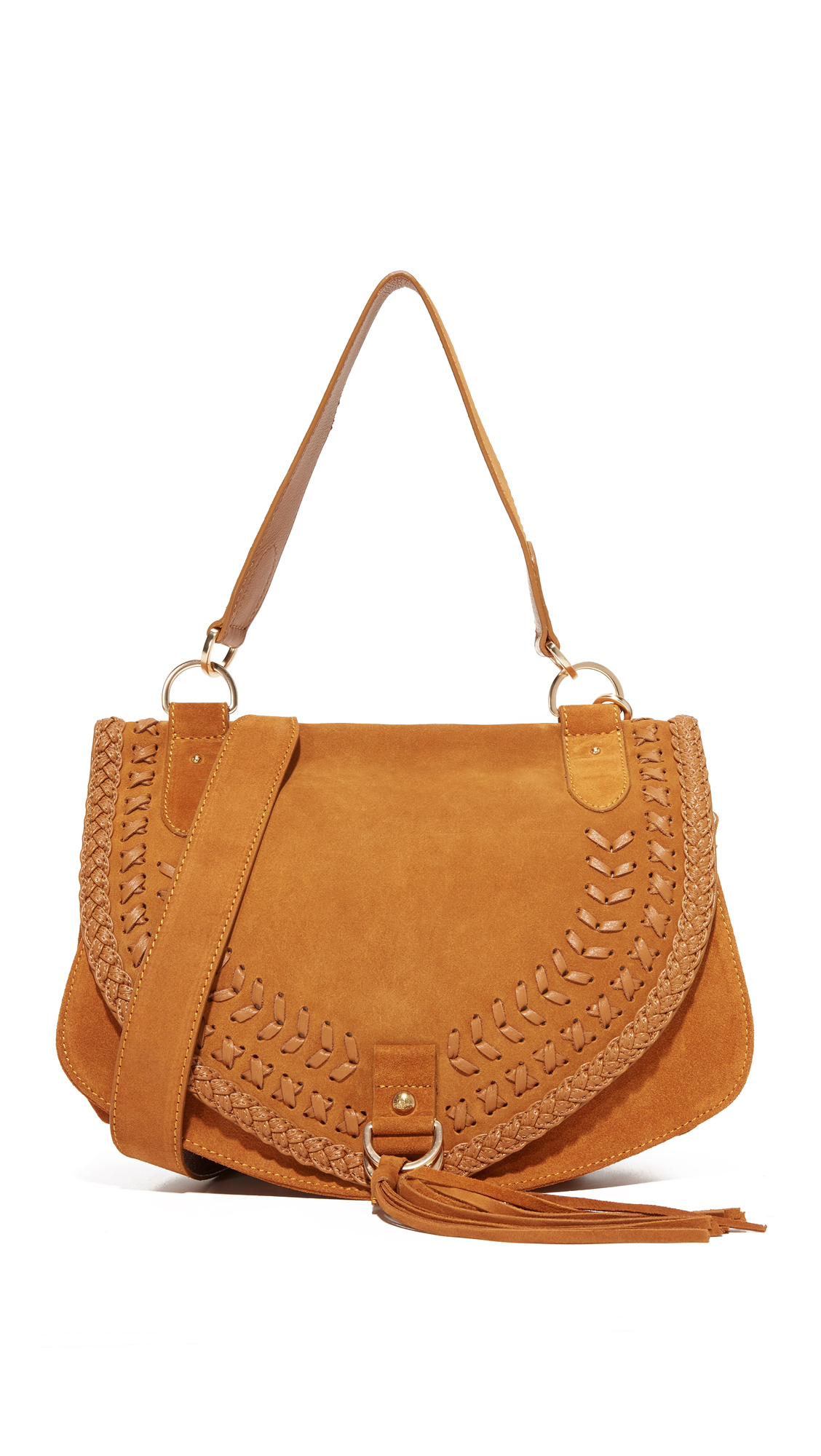 see by chloe female see by chloe collins large saddle bag passito