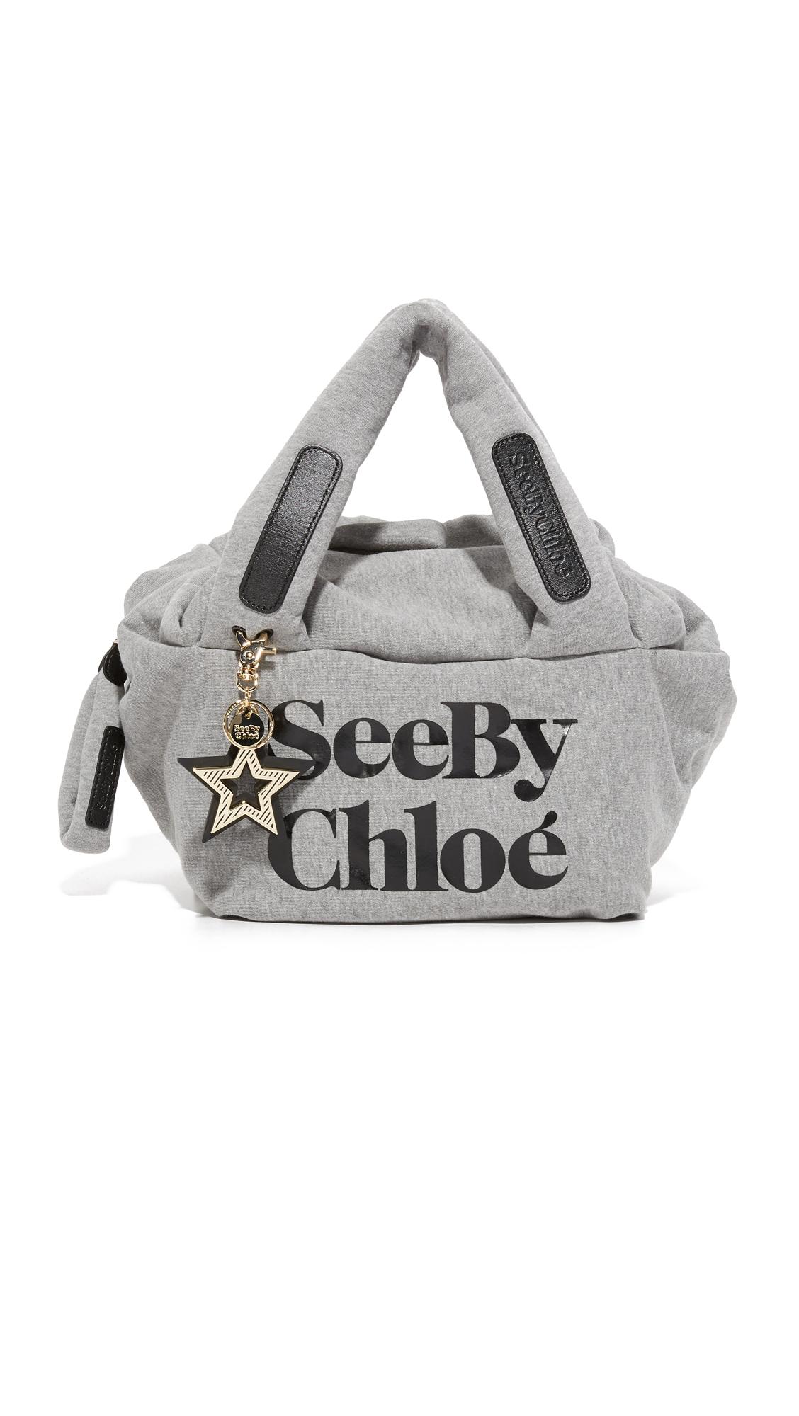 see by chloe female see by chloe joy rider bag grey melange