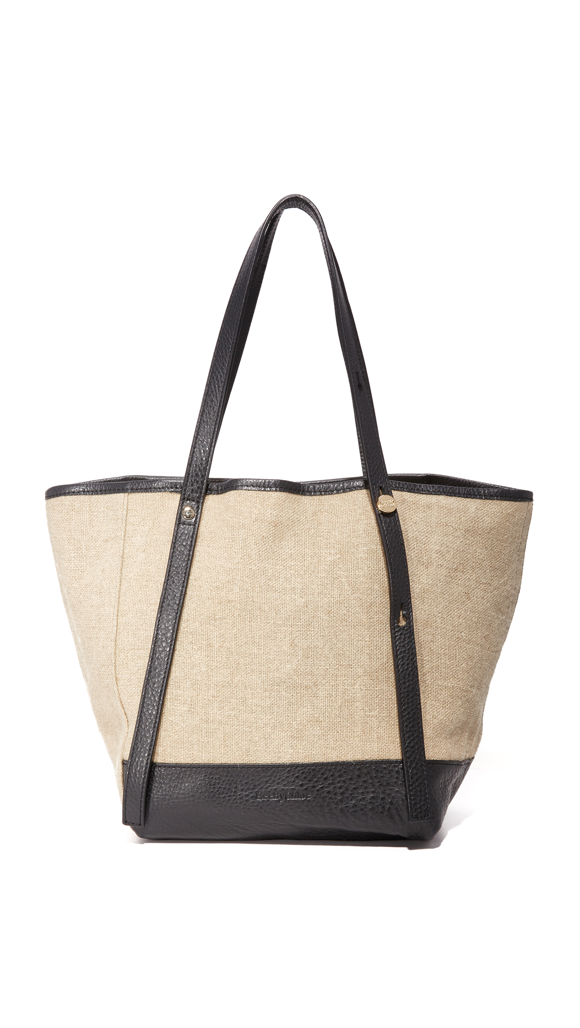 see by chloe female see by chloe andy canvas tote bag sand