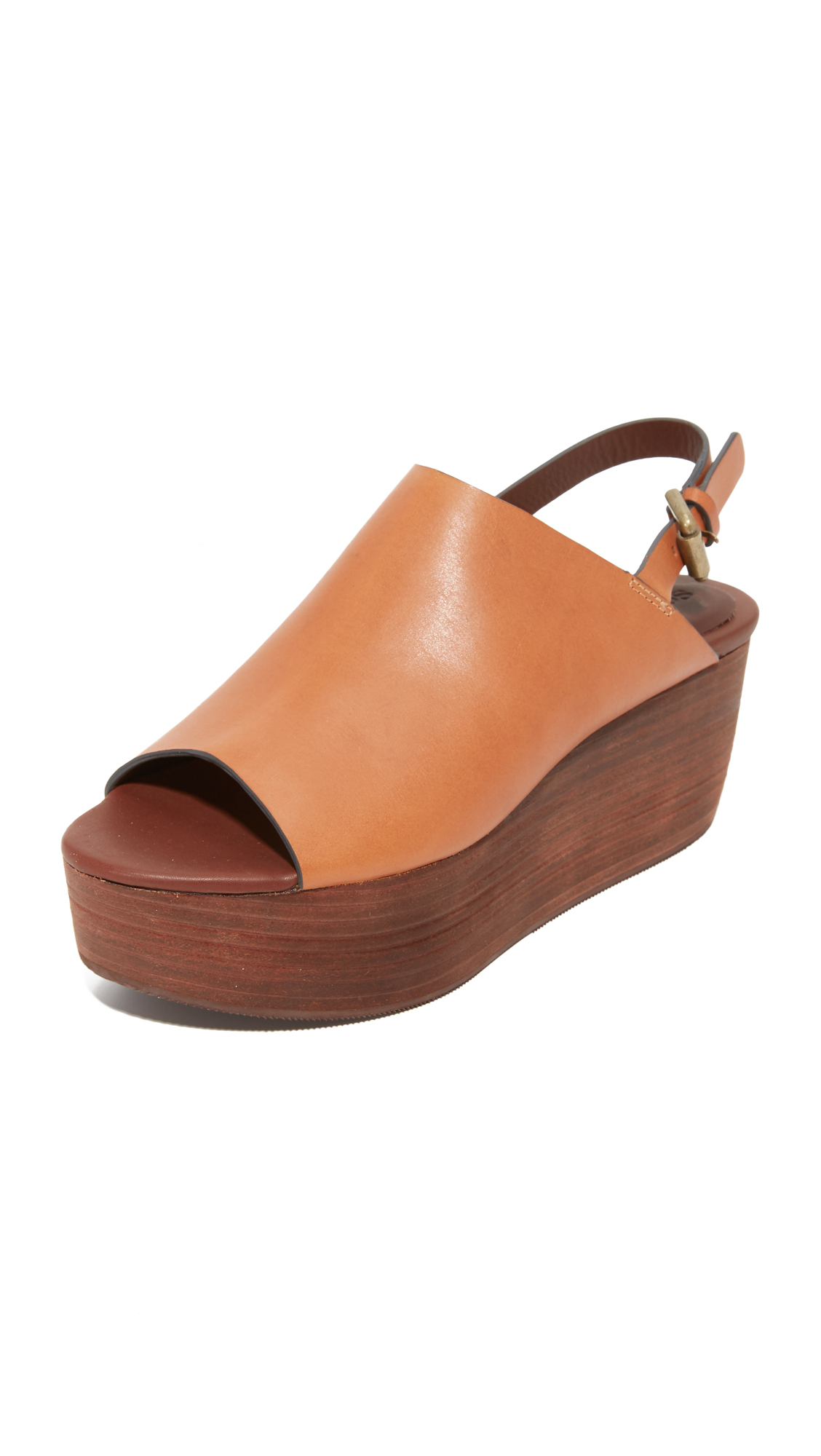 5c47156e28b1 See by Chloe Lilly Flatform Sandals
