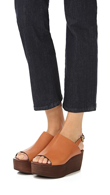See by Chloe Lilly Flatform Sandals