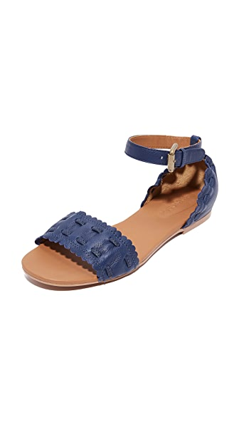 See by Chloe Jane Ankle Strap Sandals - Royale