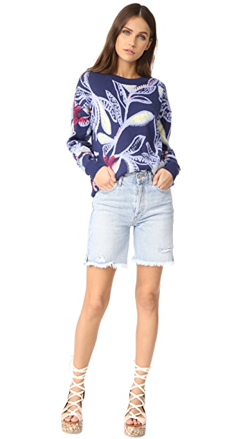 See by Chloe Printed Pullover