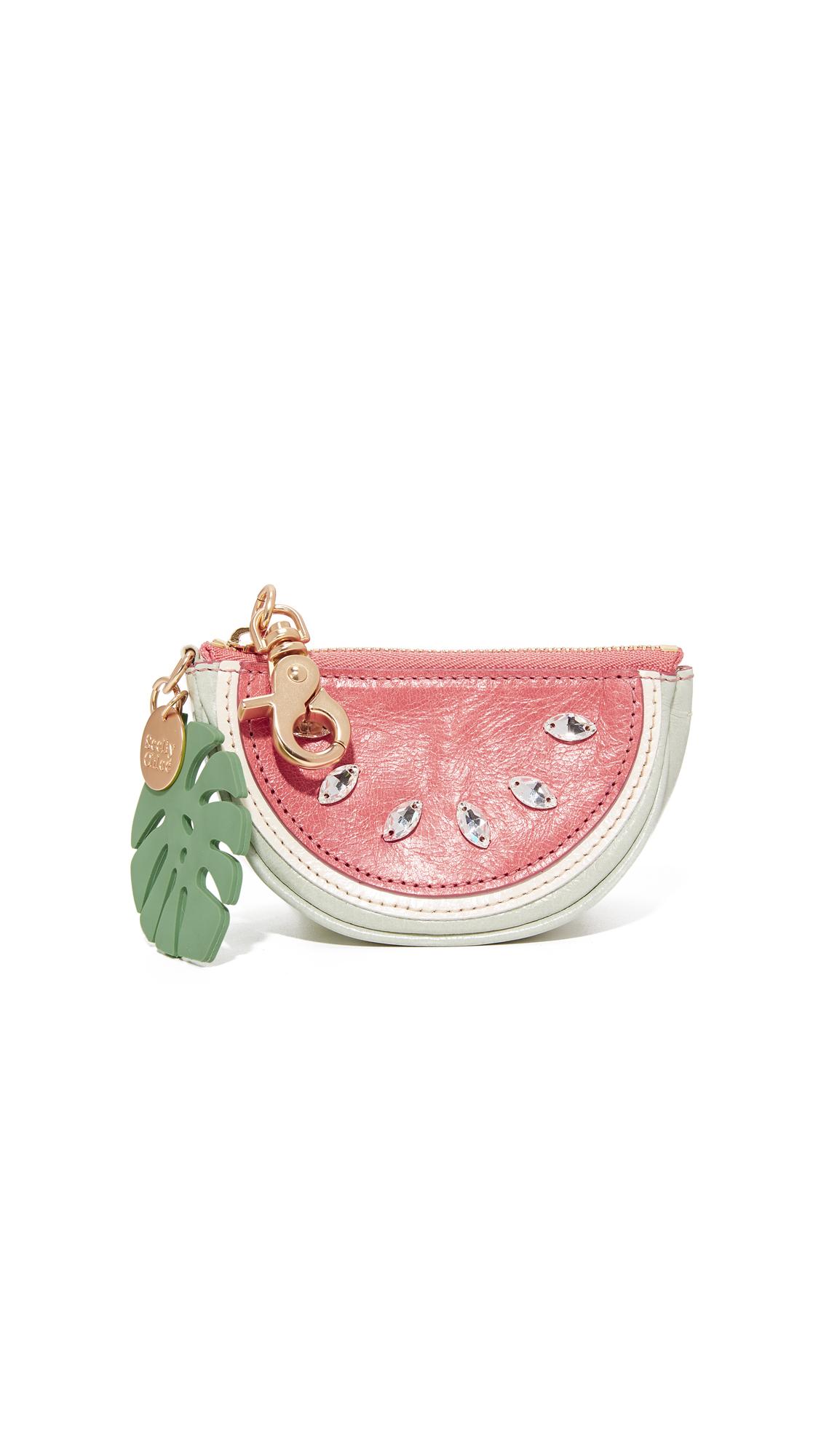 see by chloe female see by chloe tutti frutti coin purse watermelon