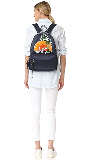 See by Chloe Satin Backpack