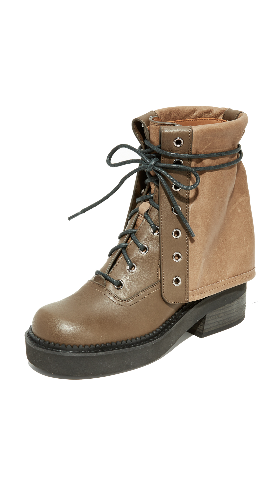 See by Chloe Katerina Combat Boots