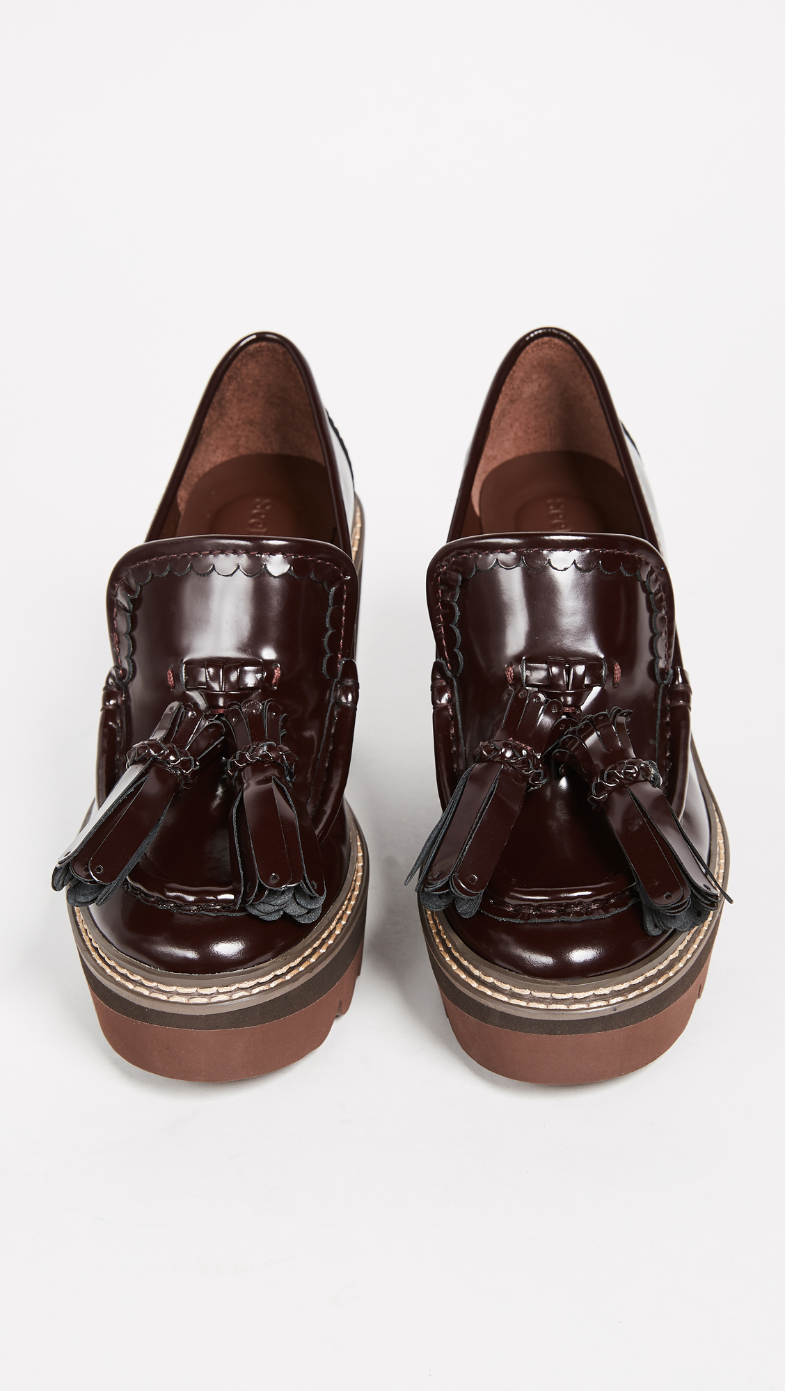 c2a644ed558ce See by Chloe Zina Wedge Loafers