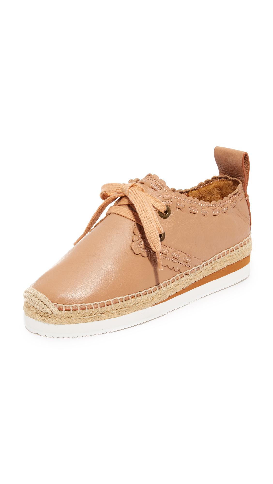 See by Chloe Glyn Espadrille Sneakers - Biscotti
