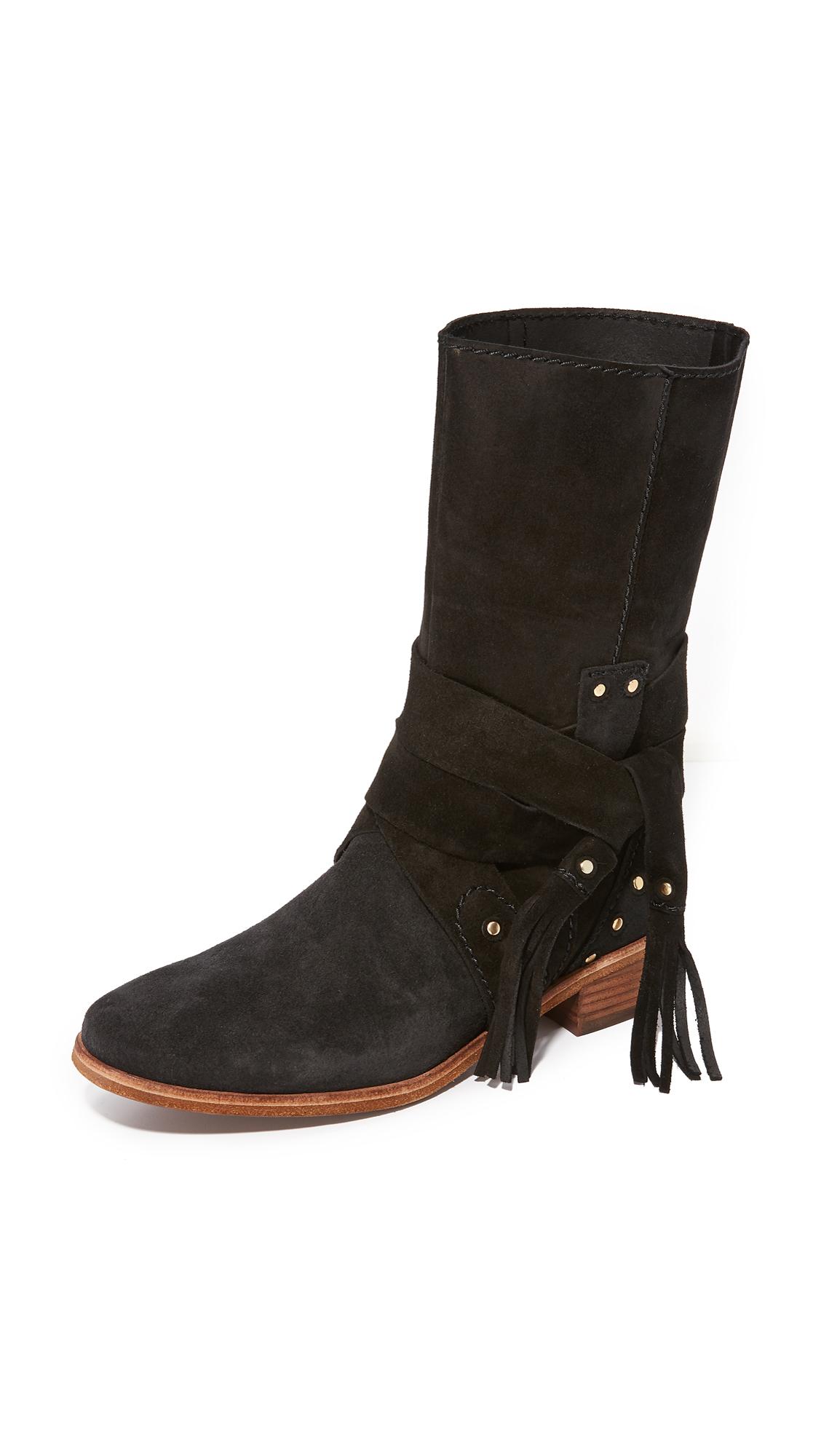 See by Chloe Dasha Flat Boots - Nero