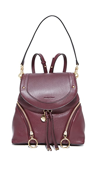 See by Chloe Olga Convertible Backpack - Grenat