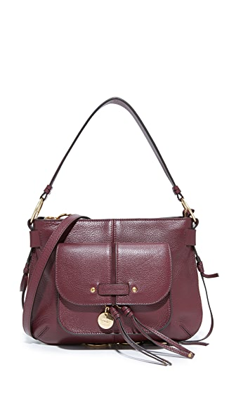 See by Chloe Olga Shoulder Bag - Grenat