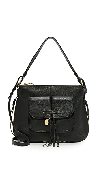 See by Chloe Olga Large Shoulder Bag - Black