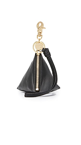 See by Chloe Pyramid Coin Purse In Black