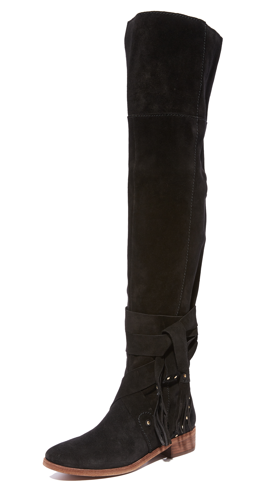 See by Chloe Dasha Dakar Over the Knee Boots - Nero