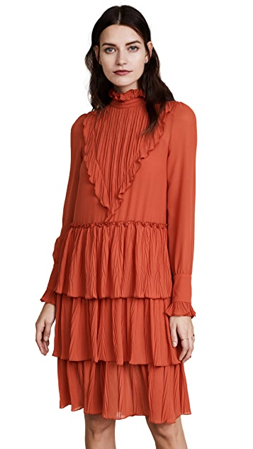 See by Chloe Ruffle Bottom Dress