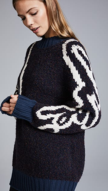 See by Chloe Oversized Sweater