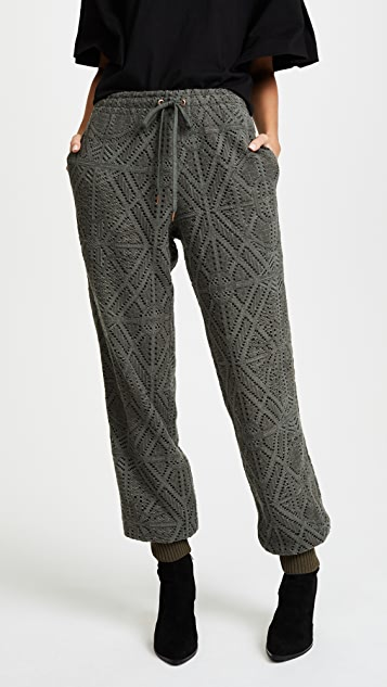 See by Chloe Lace Sweatpants