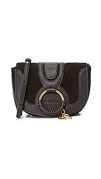 c51507ad4c836 See by Chloe. Hana Small Saddle Bag
