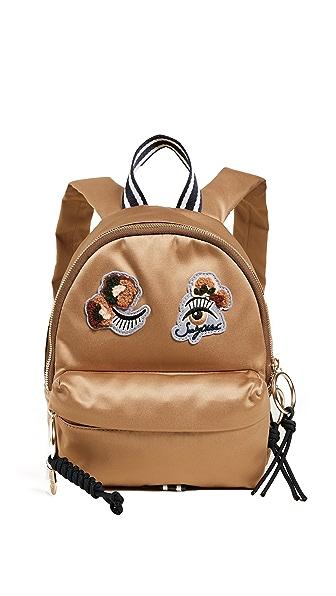 See by Chloe Andy Mini Backpack In Pearl Beige