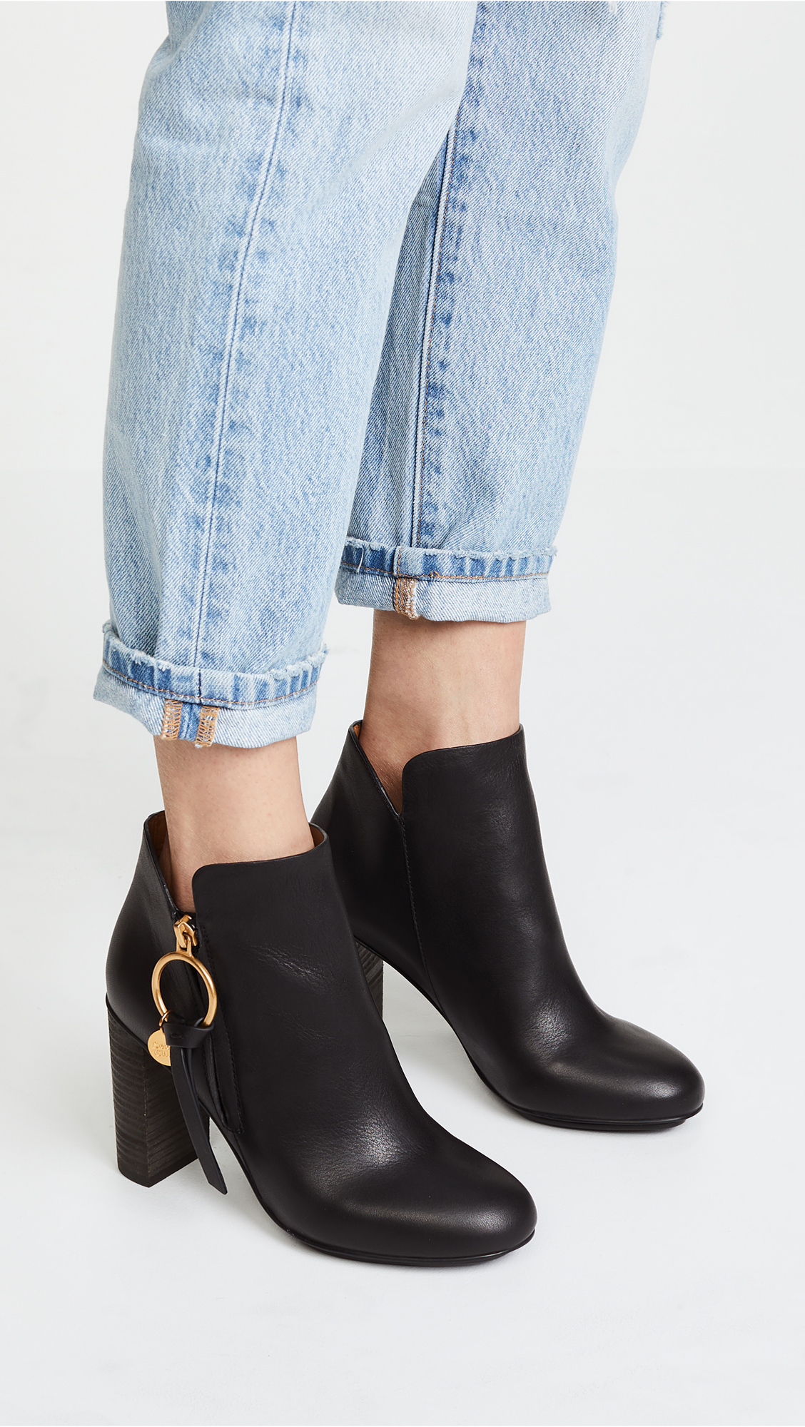 9f9df38b850ee See by Chloe Louise Booties