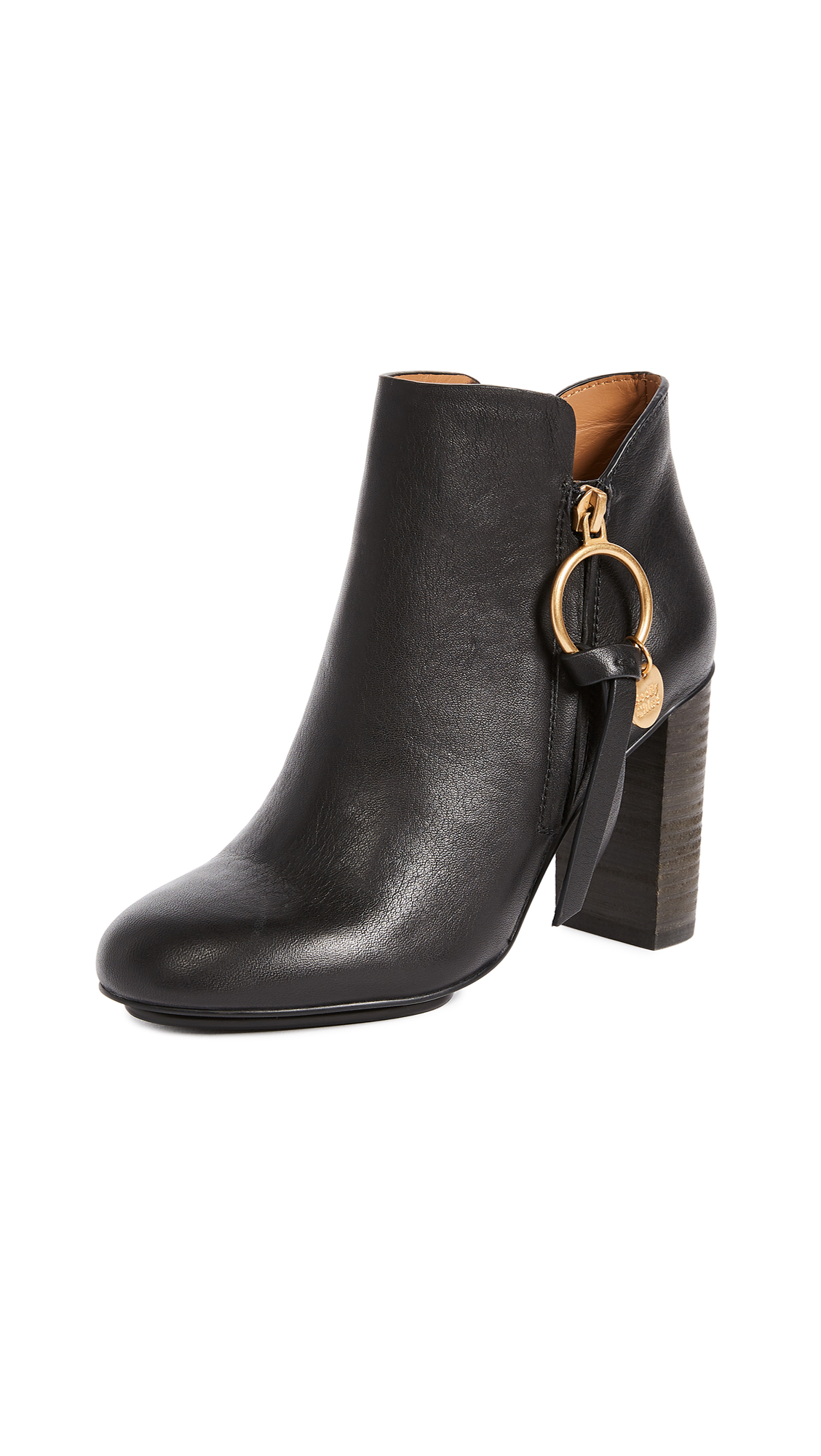 See by Chloe Louise Booties - Nero