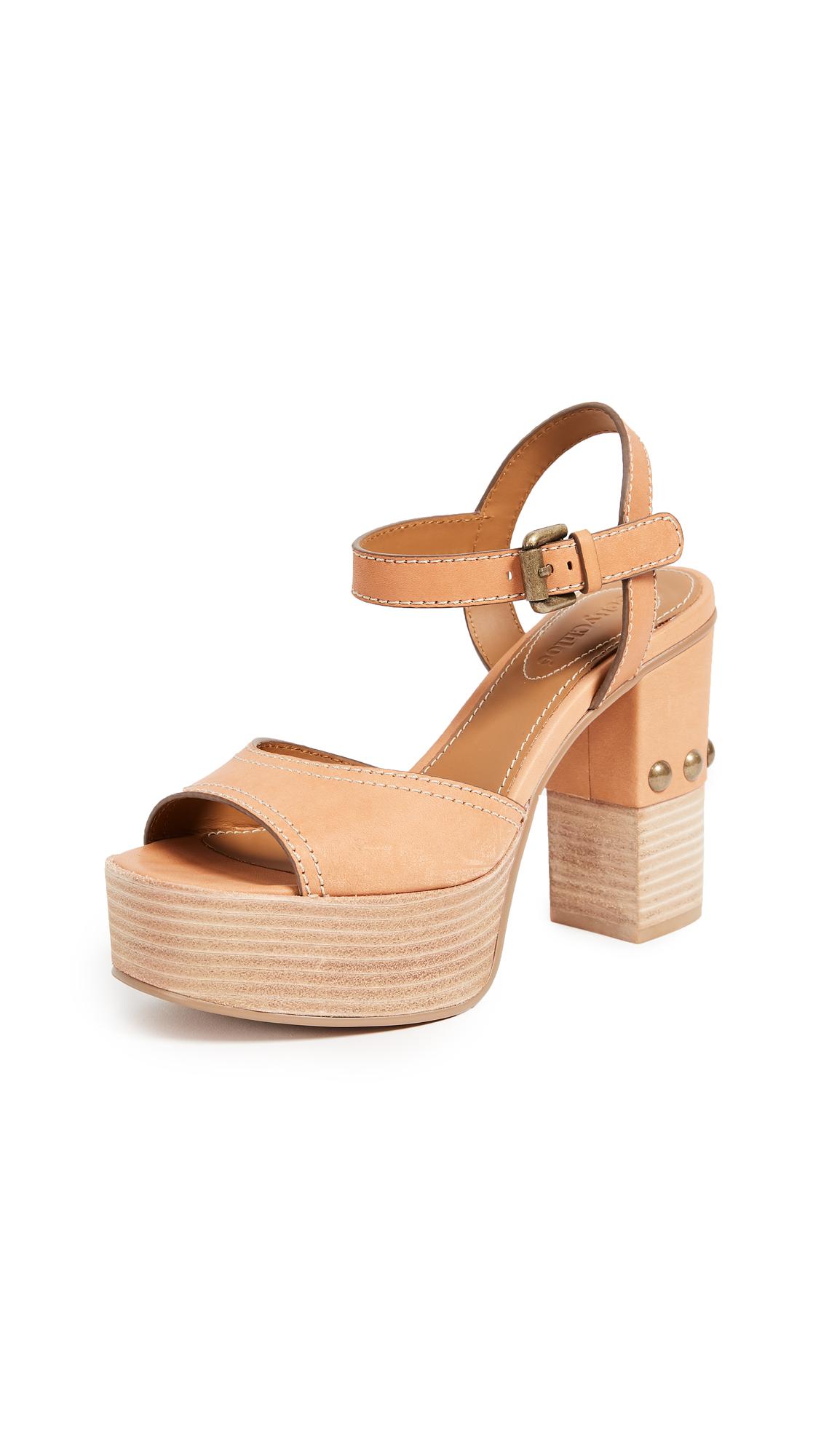 See by Chloe Tina Platform Sandals - Pergamena