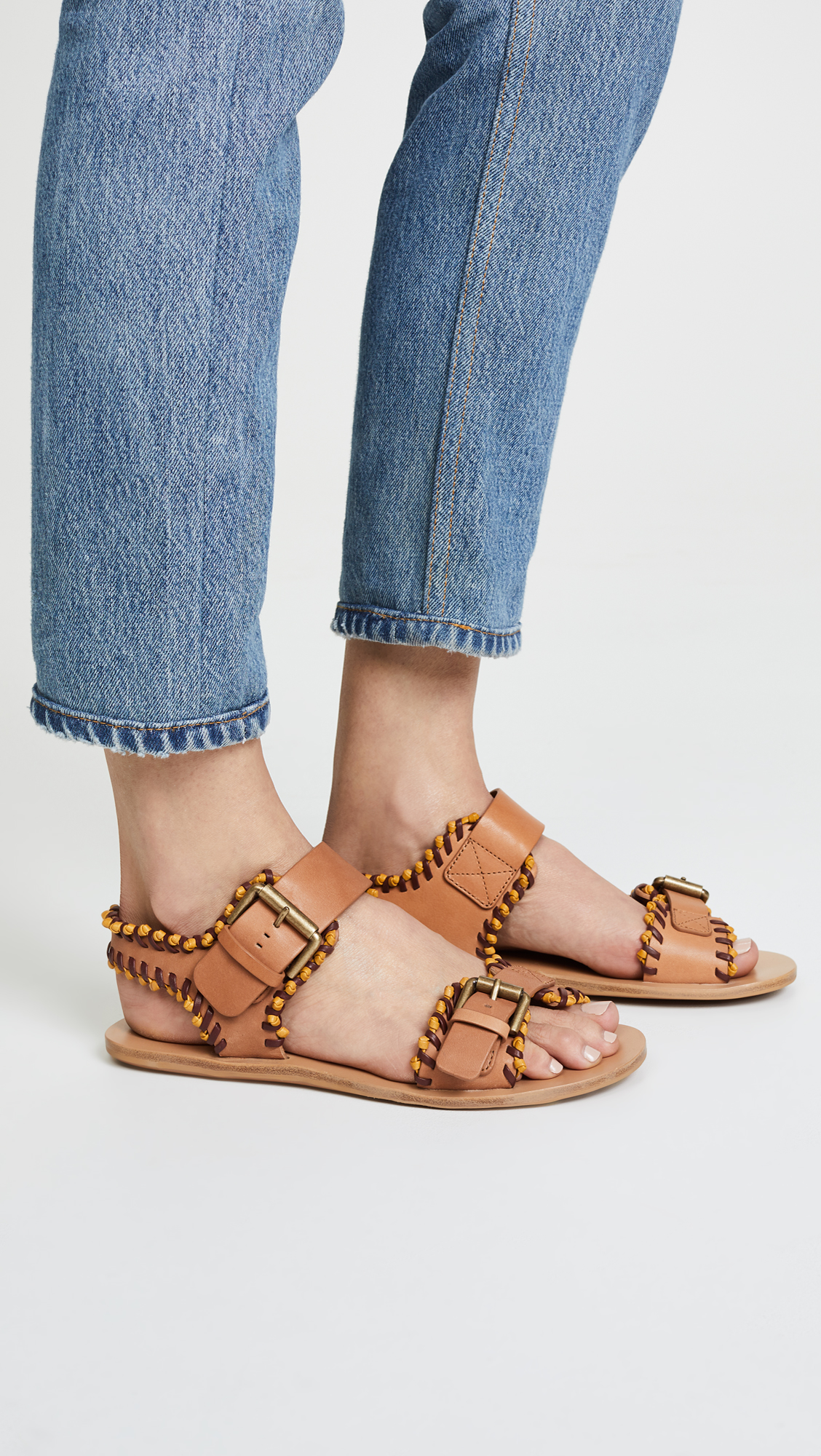 93fd7a1ee3f See by Chloe Romy Flat Sandals
