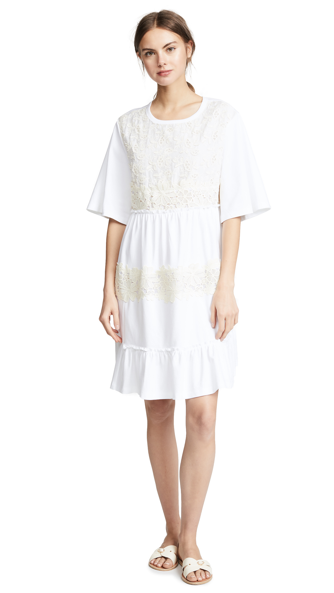 See by Chloe Shift Dress In White