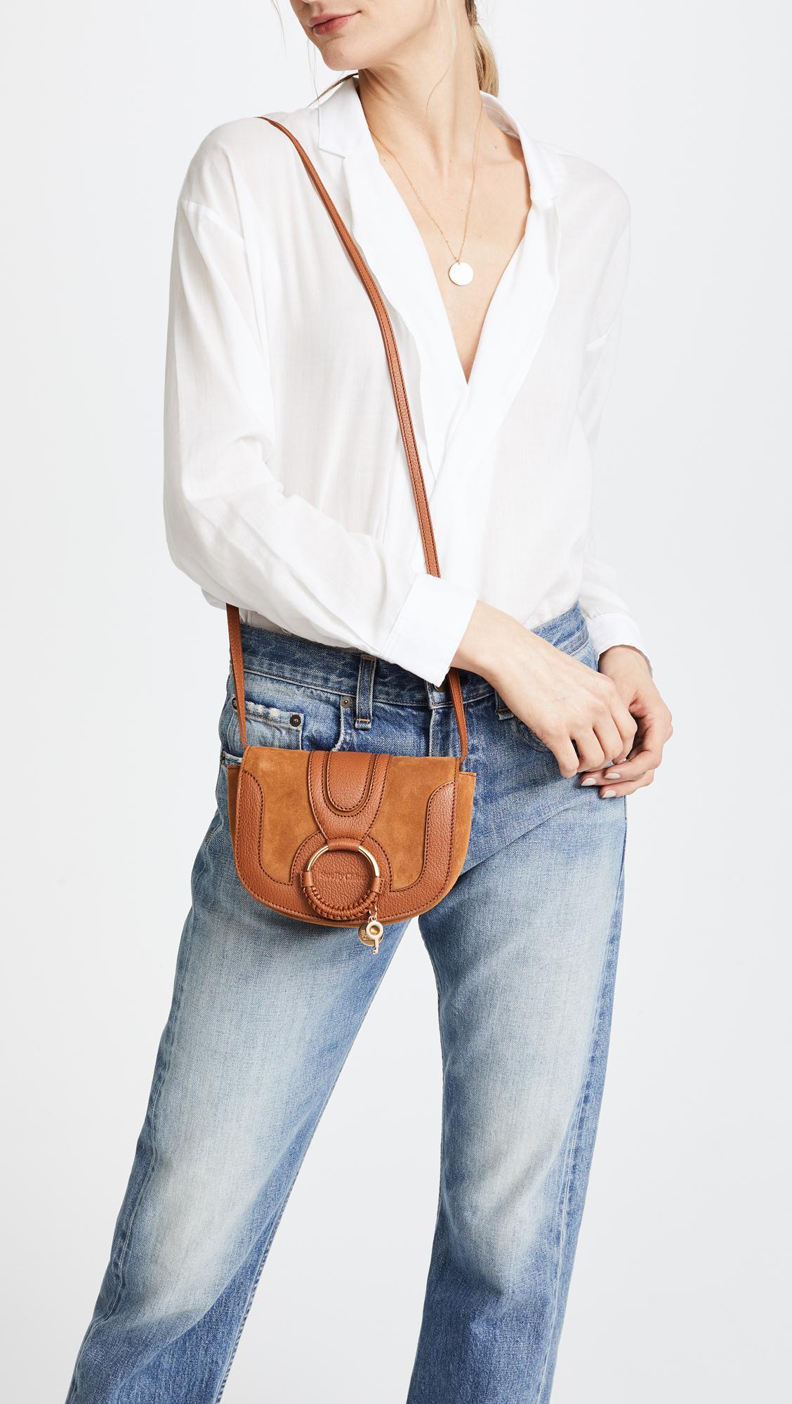 273fd070b3ac5 See by Chloe Hana Small Saddle Bag | SHOPBOP
