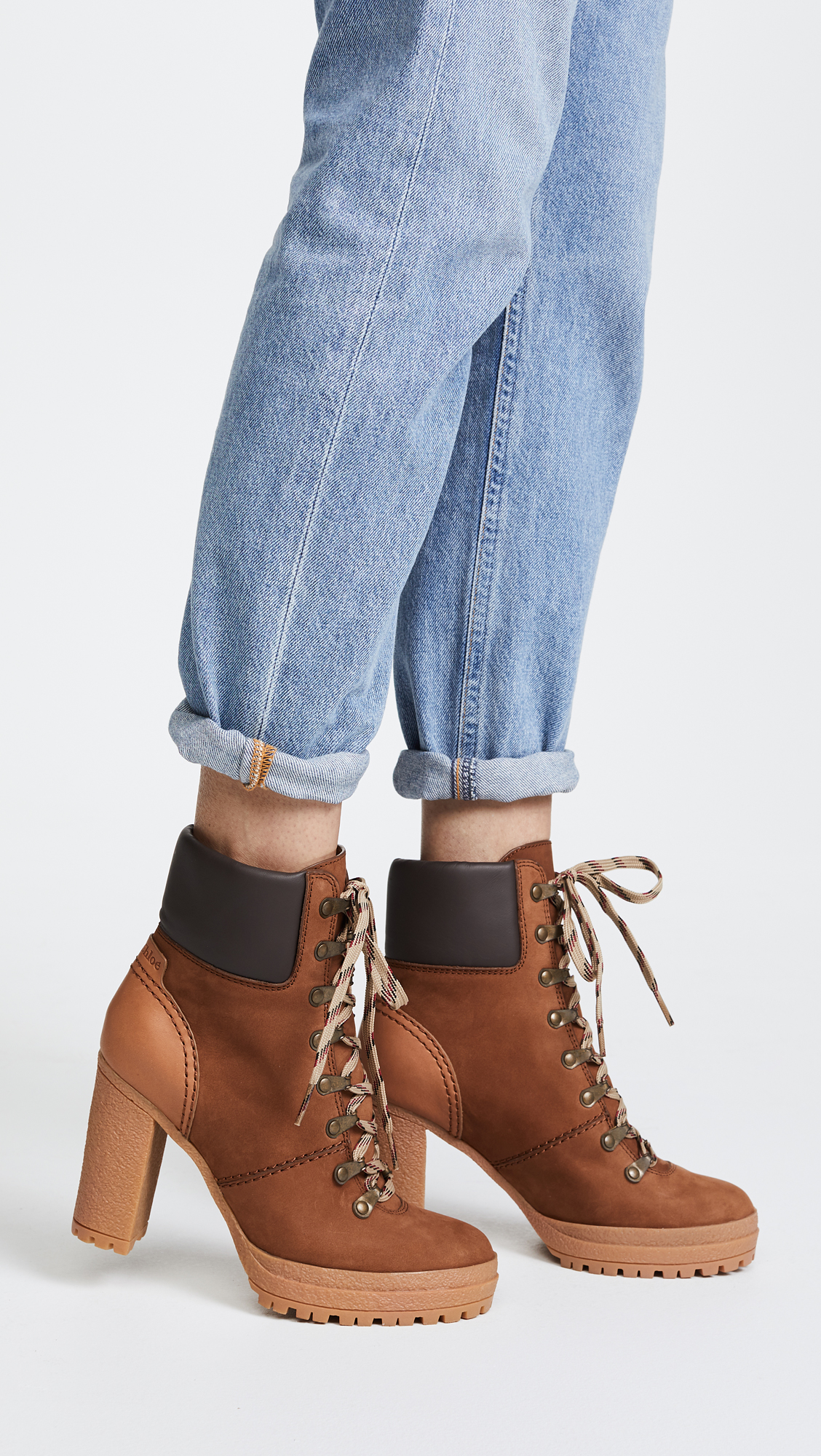 210db6a8b6e0 See by Chloe Eileen Lace Up Boots