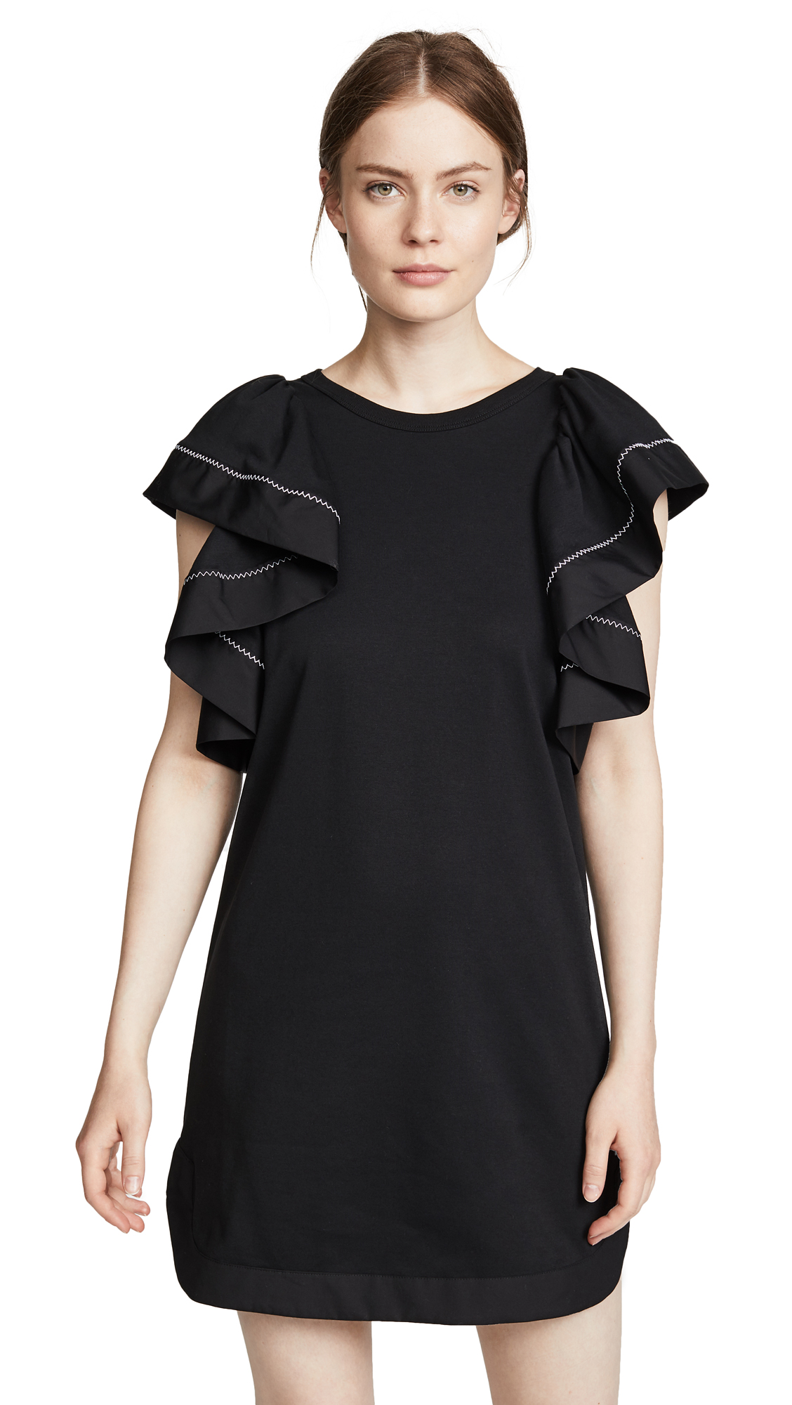See by Chloe Ruffle Sleeve Dress