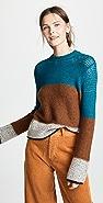 See by Chloe Block Stripe Sweater