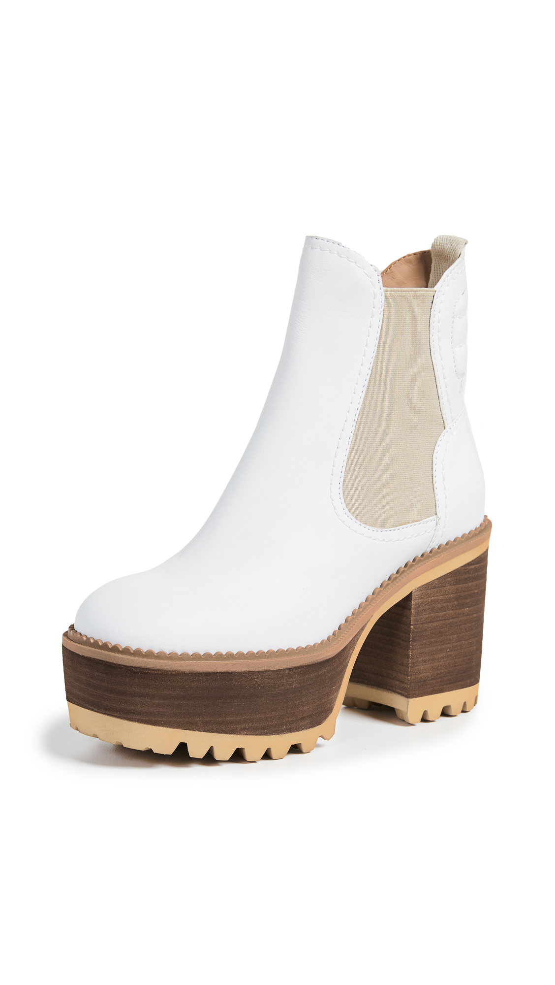 See by Chloe Erika Booties - Gesso