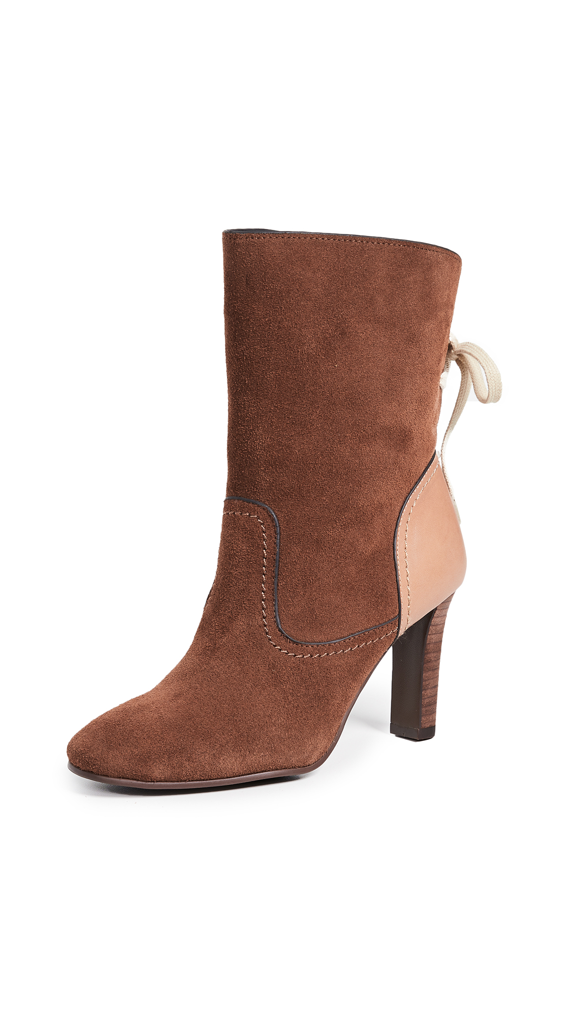 See by Chloe Lara Boots - Cola/Natural