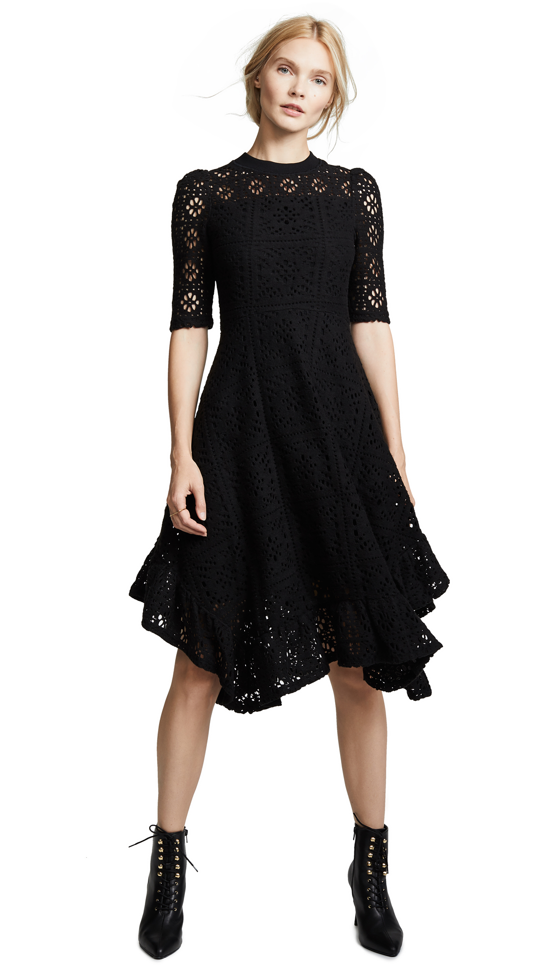 See by Chloe Asymmetrical Hem Dress