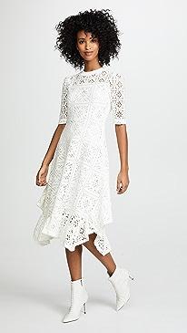 Shop second wedding dresses shopbop see by chloe asymmetrical hem dress junglespirit Choice Image