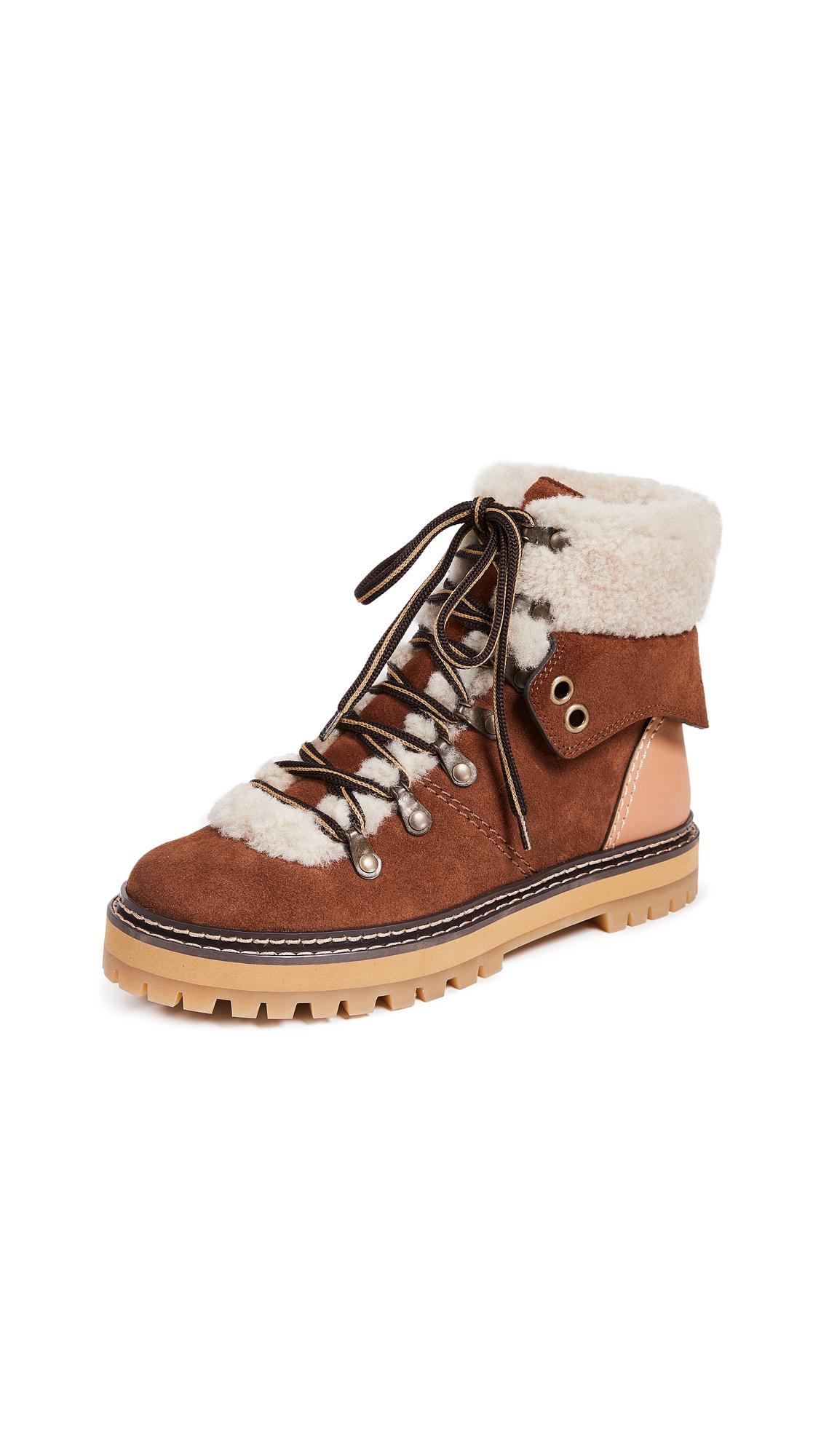 Photo of See by Chloe Eileen Flat Boots - buy See by Chloe footwear online