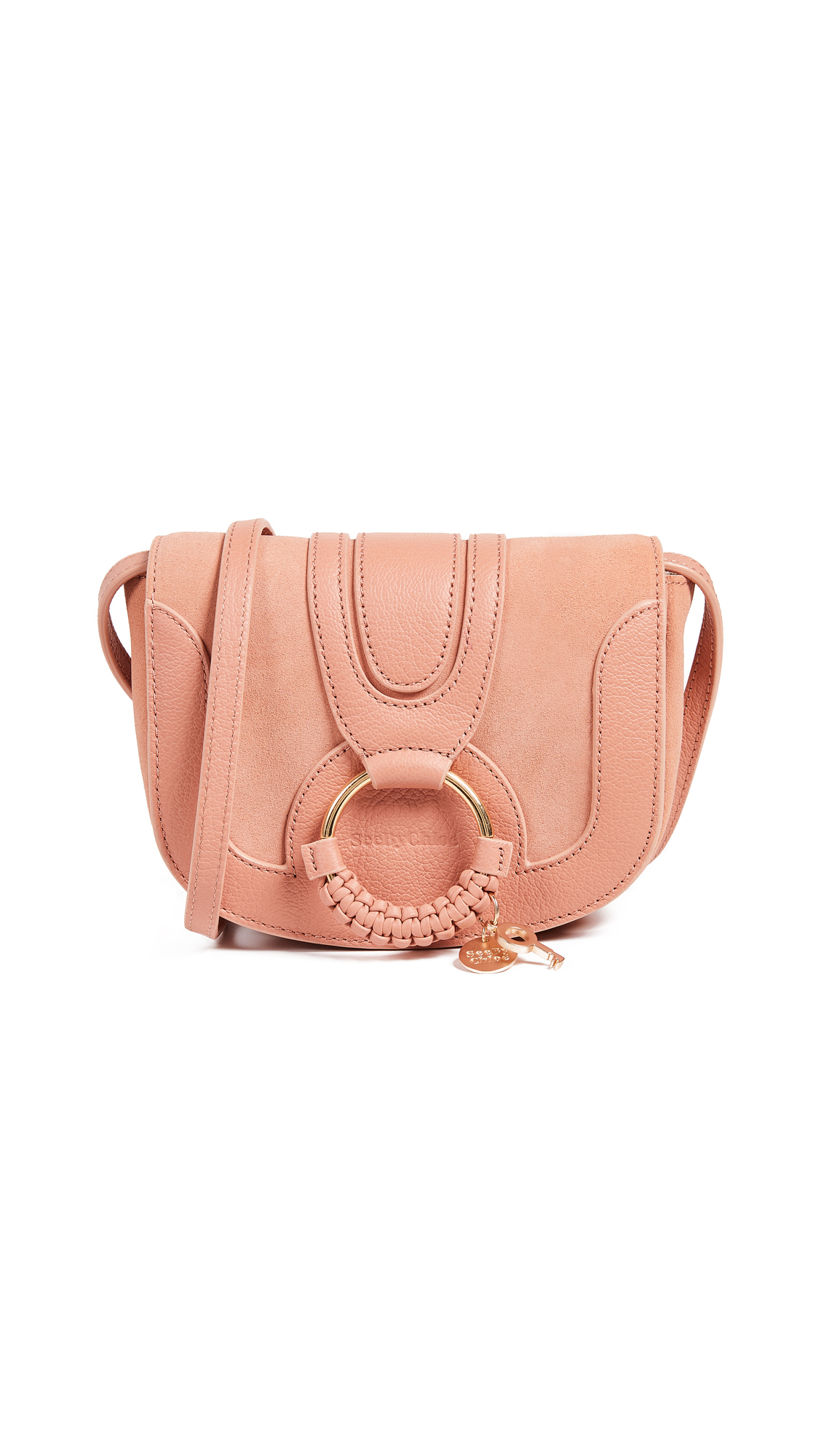 See by Chloe Hana Small Saddle Bag In Canyon Sunset