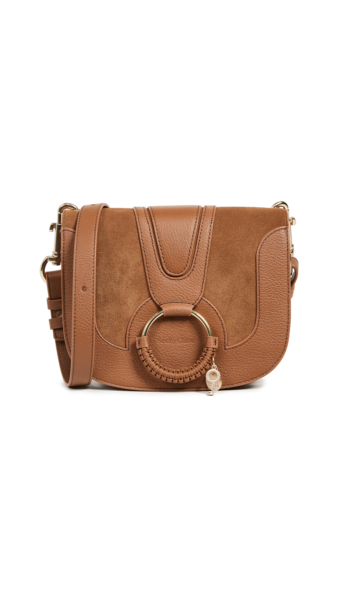 SEE BY CHLOE | See by Chloe Hana Medium Saddle Bag | Goxip