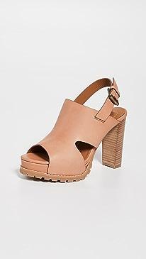 4e5bc4ea41ff See by Chloe. Brooke Platform Sandals