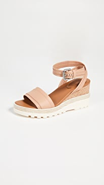 af592c1eacc8 See by Chloe. Robin Wedge Sandals