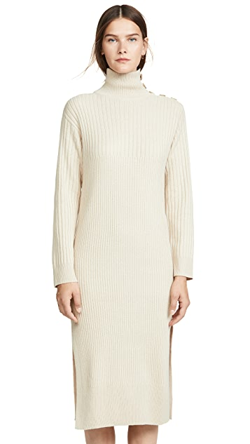 See by Chloe Turtleneck Sweater Dress
