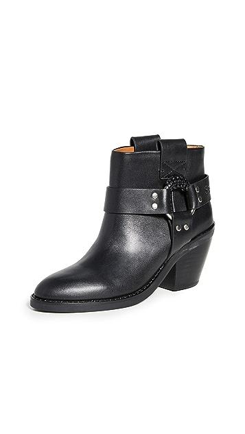 See by Chloe Eddie Ankle Western Boots