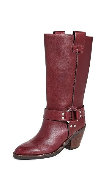 See by Chloe Eddie Tall Western Boots