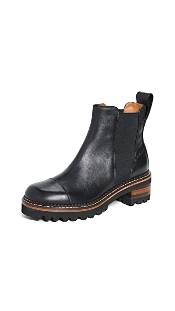 See by Chloe Chelsea Lug Sole Boots