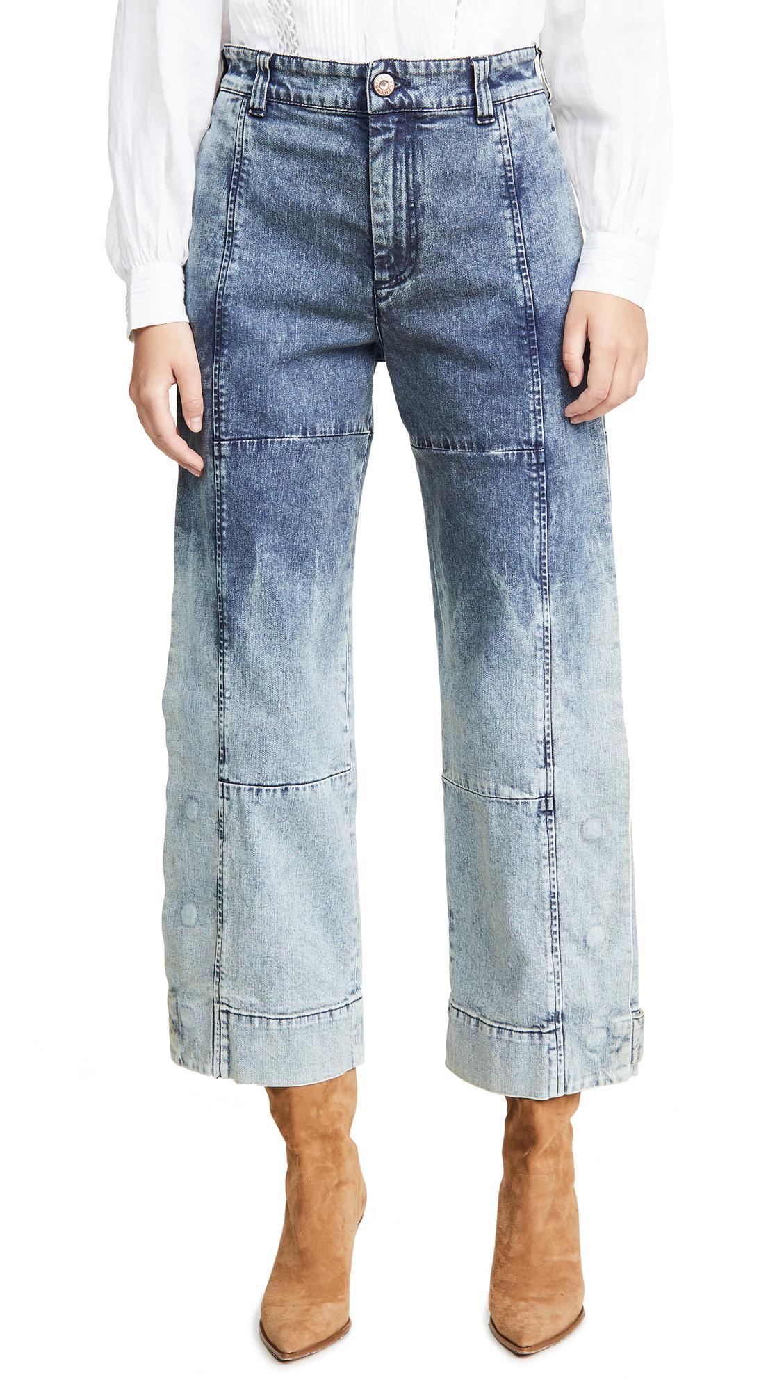 Buy See by Chloe online - photo of See by Chloe Dip Dye Jeans