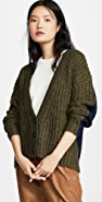 See by Chloe Button Cardigan