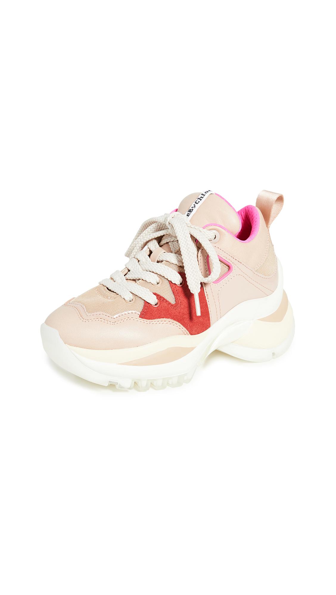 Buy See by Chloe online - photo of See by Chloe Kayla Sneakers