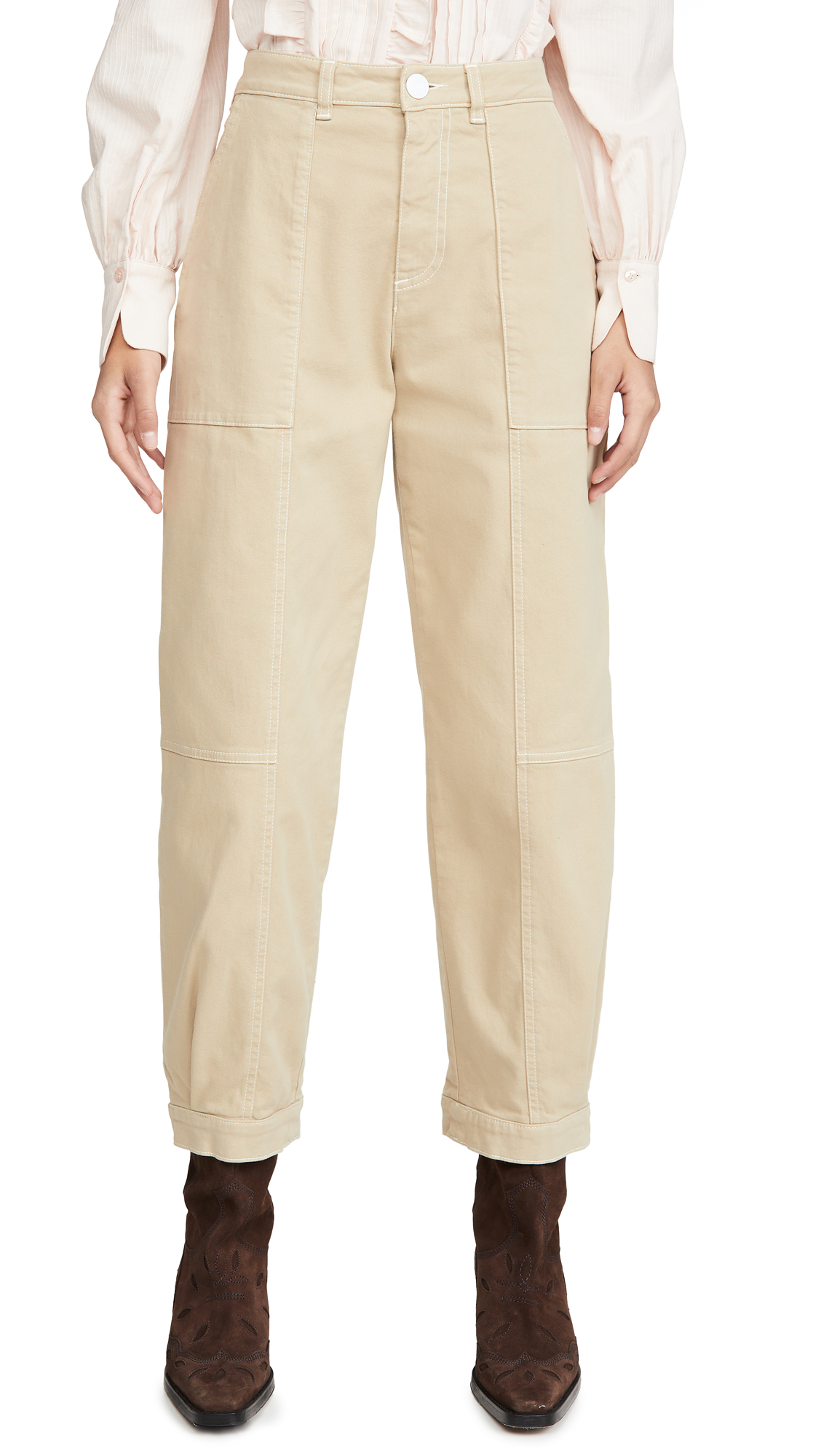 Buy See by Chloe online - photo of See by Chloe Gathered Pants