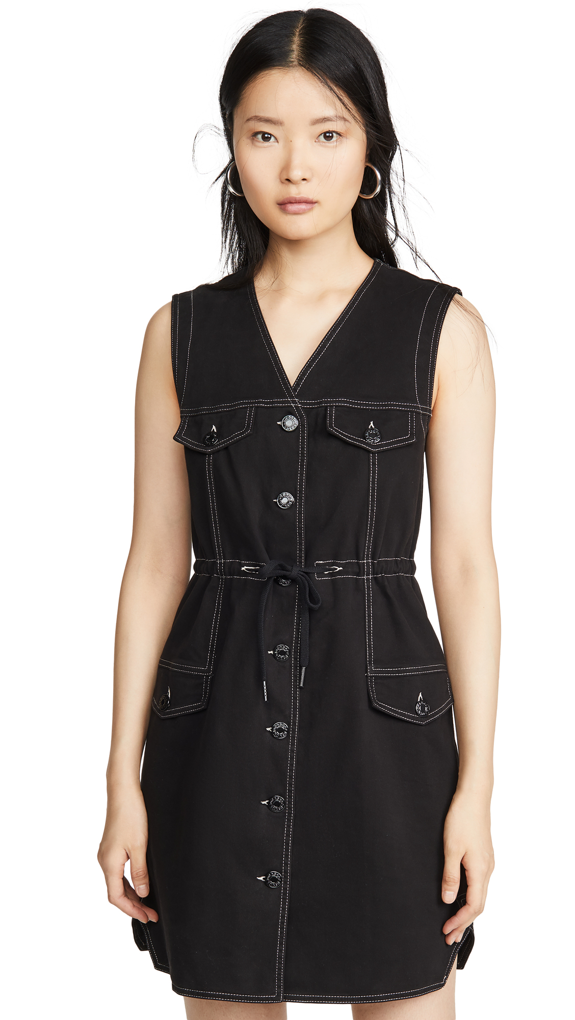 See by Chloe Button Front Dress - 60% Off Sale